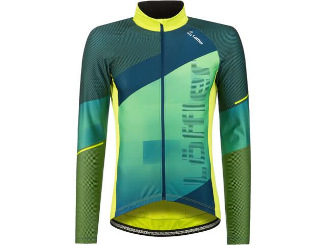 Löffler Speed Maglietta Da Ciclismo A Maniche Lunghe Uomo, light green